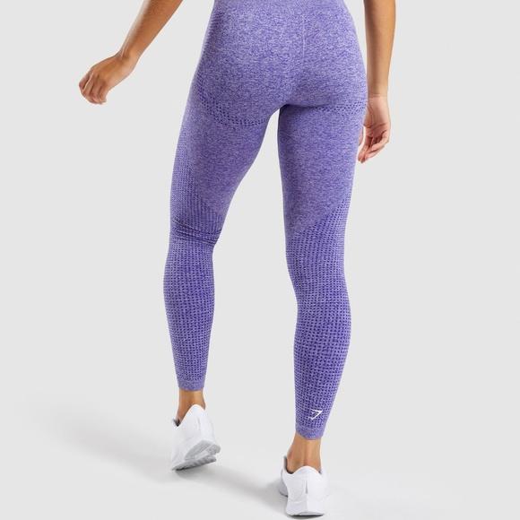 e48a4538f09695 Gymshark Pants | Vital Seamless Leggings Indigo Marl Sm | Poshmark